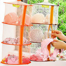 Folding Clothes Dryer Net 3 Layers Underwear Socks Airing For Sweaters Hanging Drying Rack