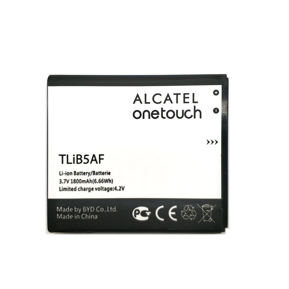 Replacement Alcatel Li-Ion-Battery One-Touch Tlib5af 1800mah For One-touch/Pop/C5/..