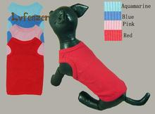 Pet Products Dog Supplies color cotton Chihuahua Puppies Summer Clothes Stretch Rib vest Clothing