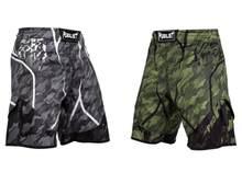 Shorts de mma série maluca, para combate, academia, boxe, sanda