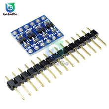 2pcs/Lot 4 Channel IIC I2C Level Converter Bi-Directional Board Module With Pins 5V/3.3V DC For Arduino цены