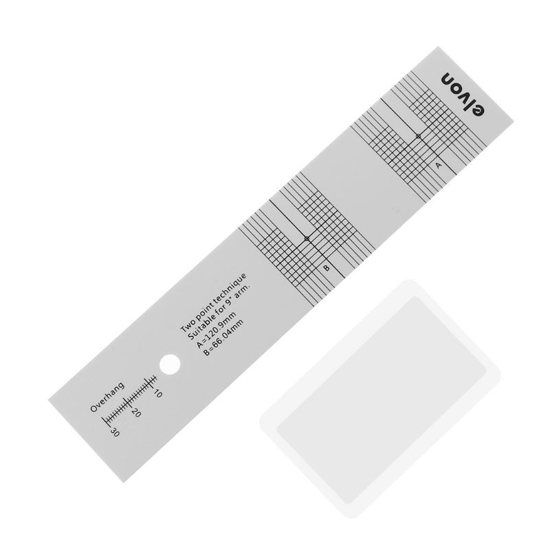 Pickup Kalibrierung Abstand Gauge Winkelmesser Rekord Lp Vinyl Plattenspieler Phonographen Phono Patrone Stylus Ausrichtung Einstellung T Reinigen Der MundhöHle. Unterhaltungselektronik Heim-audio & Video