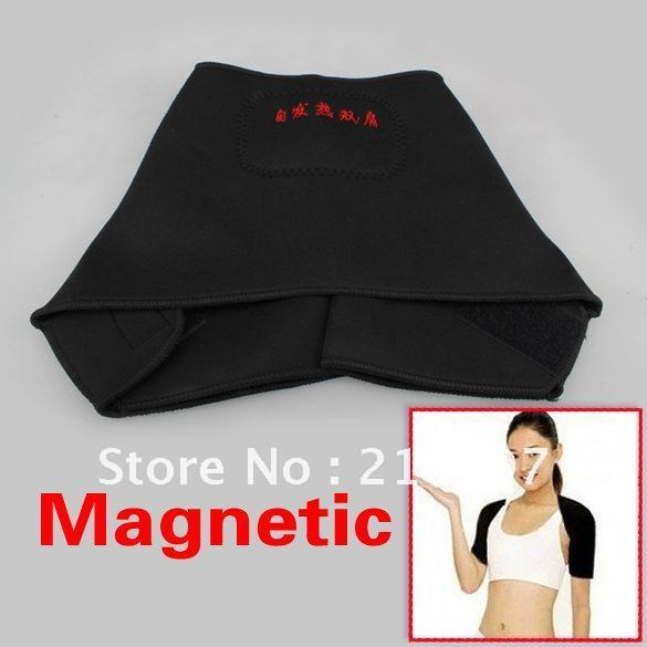 1x Shoulder Brace Support Spontaneous Heating Protection Magnetic Therapy Belt+Retail