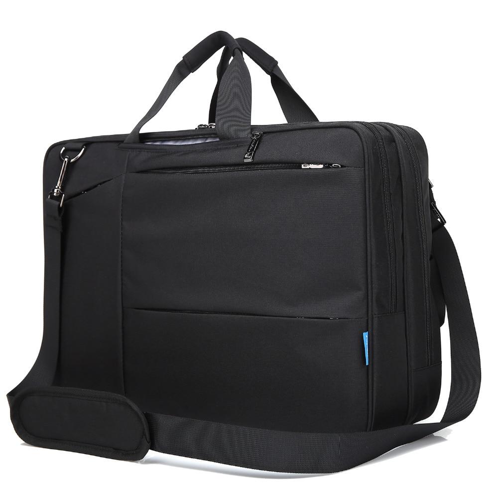 17 17.3 inch Convertible Backpack Messenger Bag Shoulder bag Laptop Case Business Briefcase Multi-functional Travel Rucksack ...