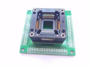 Image 3 - Trasporto libero TQFP64 QFP64 LQFP64 A 64 adattatore socket passo 0.8mm per ATmega64 ATmega128 ATmega128AU tl866cs tl866a AVR mcu
