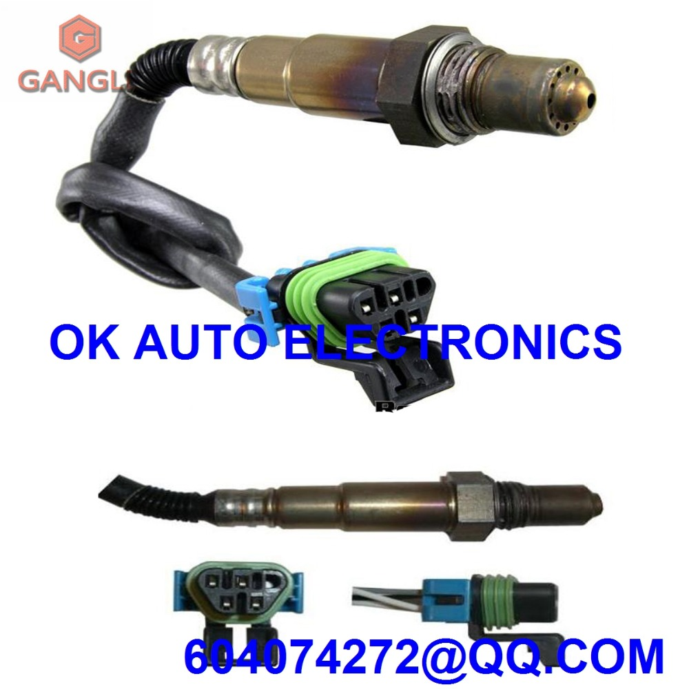Oxygen Sensor Lambda Sensor AIR FUEL RATIO O2 SENSOR for BUICK CADILLAC CHEVROLET  GMC SATURN 234 4815 2344815 12607333 12612430-in Exhaust Gas Oxygen Sensor  ...