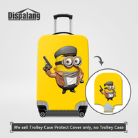 Cartoon Elastic Luggage Protective Covers Despicable Me 2 Minions Print Children S Tolley Suitcase Dust Cover