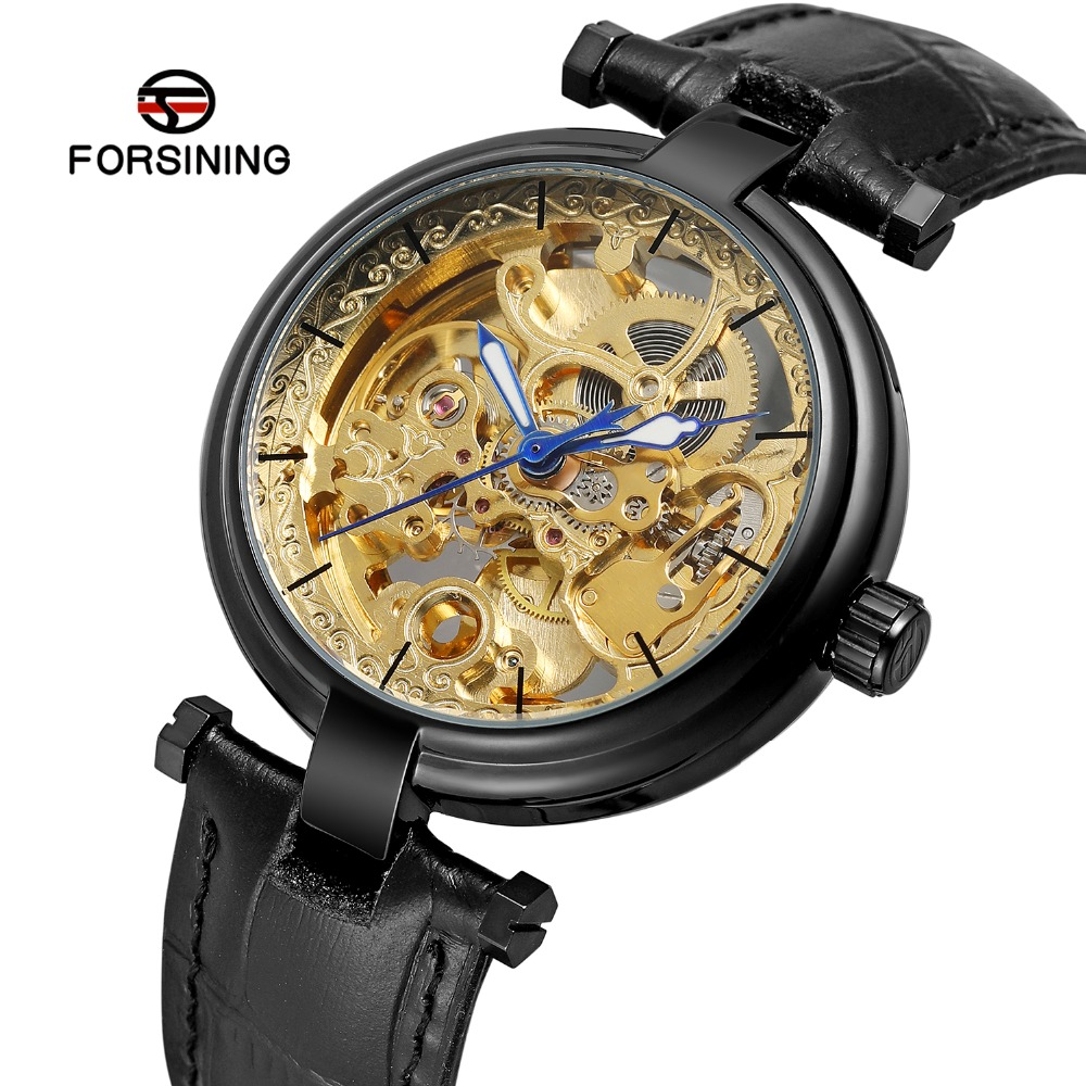 FORSINING Mens Luxury Crystal Automatic Self-wind Movement Skeleton Best Wristwatches with Classic Analogue Dial FSG8160M3FORSINING Mens Luxury Crystal Automatic Self-wind Movement Skeleton Best Wristwatches with Classic Analogue Dial FSG8160M3