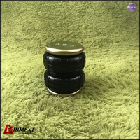 New SN125150BC2 /Dia.125mm rear air suspension airspring Double convolute rubber shock absorber/pneumatic parts/air suspension