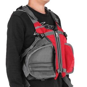Image 3 - דייג Vest מתכוונן לנשימה שיט קיאקים שייט הציפה מעיל חזיית אבזר