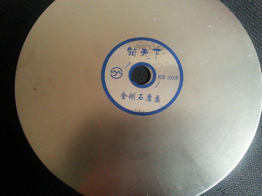 6 Inch Diamond Flat Grinding Discs For Gemstone , Polishing Tools Grit #2000 Free Shipping