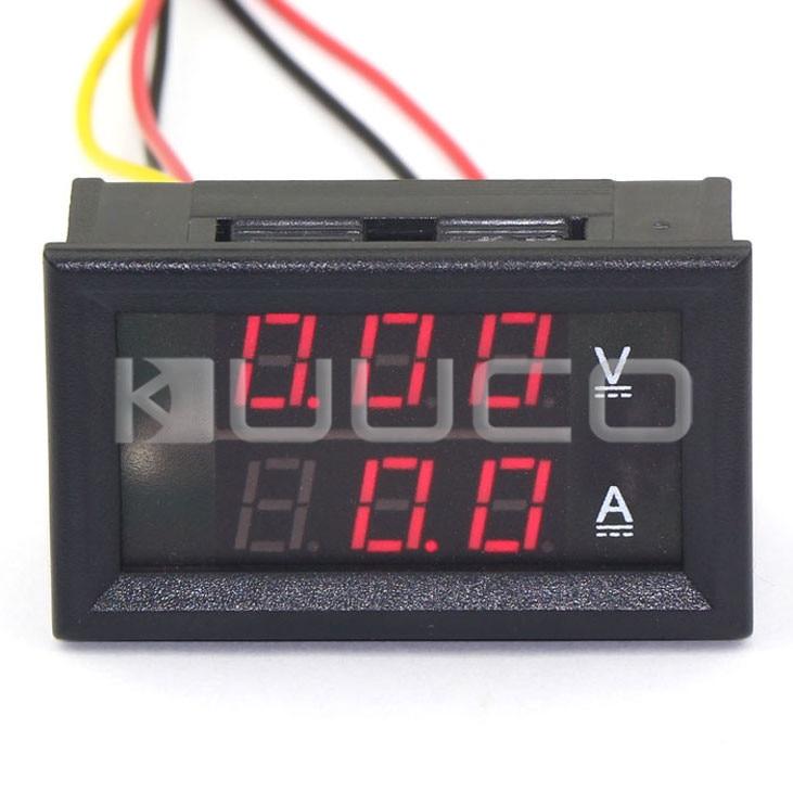 Instrument Parts & Accessories Tools Digital Tester Dc 4.5 ~ 30v/50a Voltmeter Ammeter 2in1 Volt Ampere Meter Dc 12v 24v Voltage Current Meter/panel Meter Clearance Price
