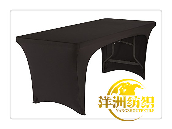 BLACK 6FT lycra table cloth /lycra <font><b>chair</b></font> <font><b>cover</b></font>/spandex <font><b>chair</b></font> <font><b>cover</b></font>