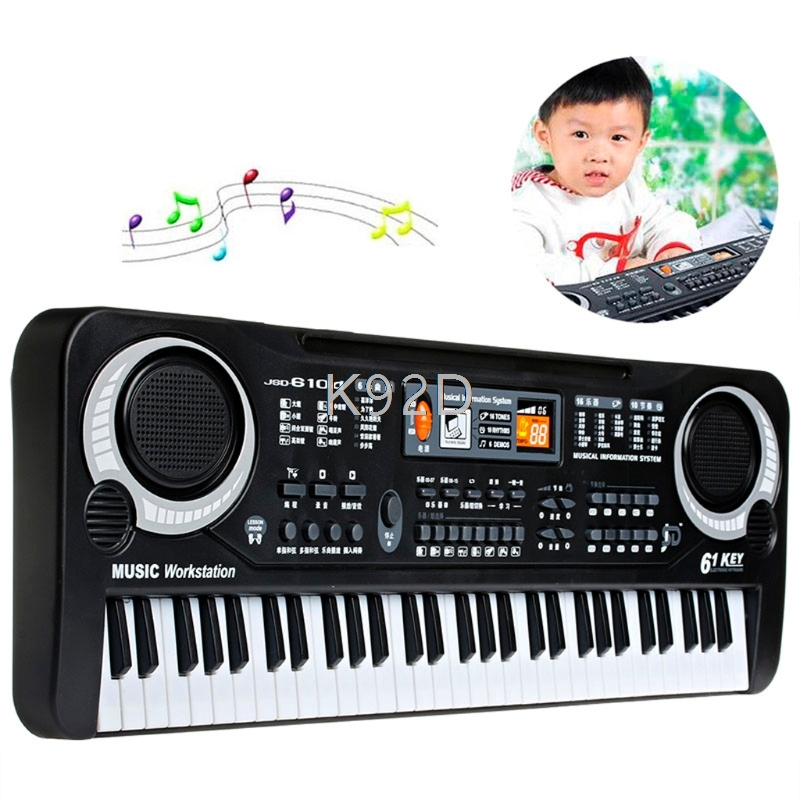 все цены на 61 Keys Digital Music Electronic Keyboard Key Board Gift Electric Piano Gift N01 онлайн