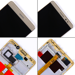 Image 5 - AAA IPS LCD display For Huawei Mate 8 touch screen Digitizer Sensor Assembly 6.0 inch 1920*1080 Frame with Free Glass film Tools