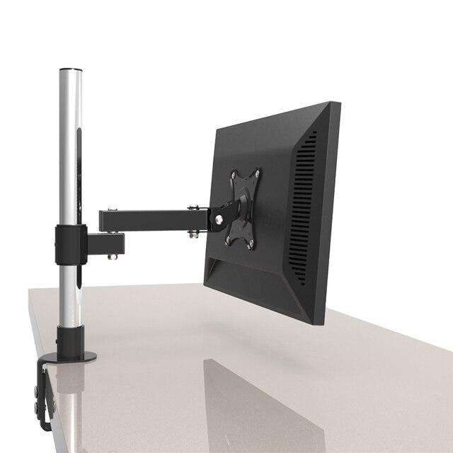 13 24 Lcd Bildschirm Desktop Tv Mount Monitor Halter Edelstahl