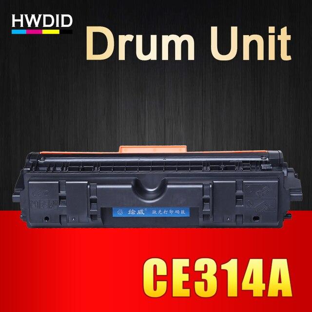 HP 126A/a CE314A 314 컬러 레이저젯 프로 CP1025 1025 CP1025nw M175a M175nw M275MFP 용 HWDID 호환 314A/a 이미징 드럼 장치