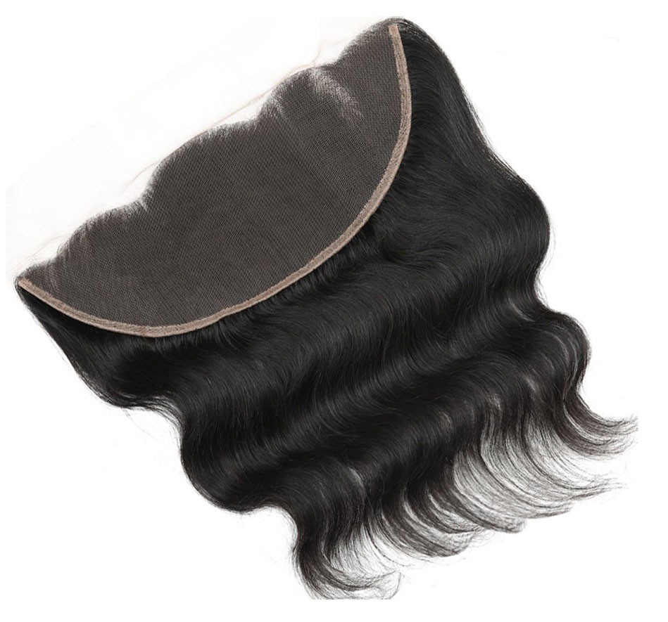 body wave human hair frontal