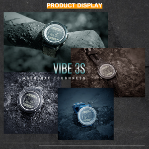 Image 5 - Zeblaze VIBE 3S Rugged Outdoor Smartwatch Real time Weather Steps Calorie Distance Tracking 5 ATM/50M/164ft Water Resistant
