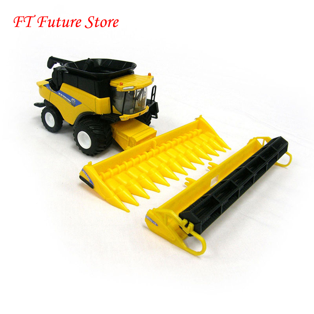 Новый Холланд CR960 комбайн 13595 1/64 масштаб желтый Сплав ABS сельскохозяйственные машины коллекции игрушки для детей