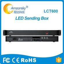 LCT600 novastar suporte novastar envio de cartão de caixa de controle para MSD600 vx4s processador levou