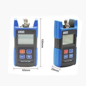 Image 3 - Handheld TL 510 mini medidor de potência de fibra óptica com sc fc interface medidor de potência do laser fibra óptica tester