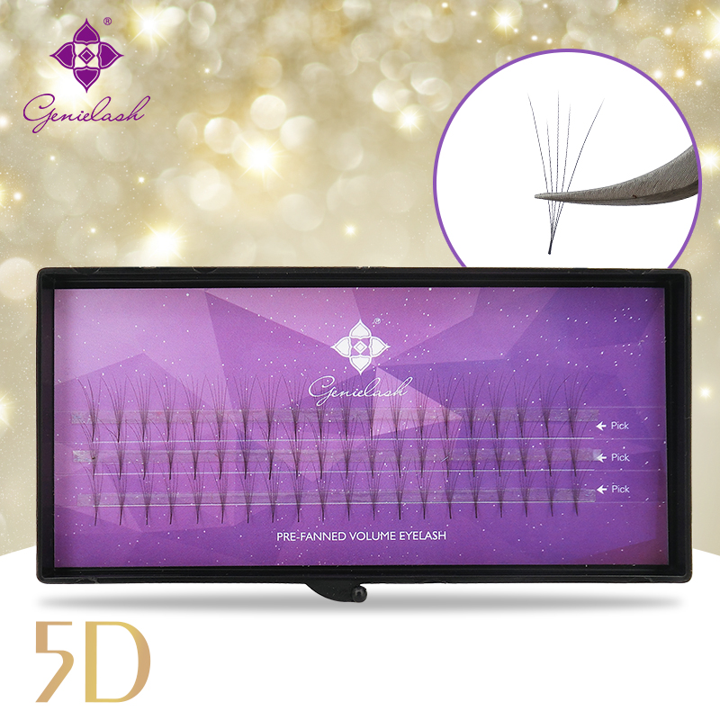 5D pre-made fans 1 case easy for volume eyelash extension accelerate the eyelash extension process save efforts and time брюки accelerate tight