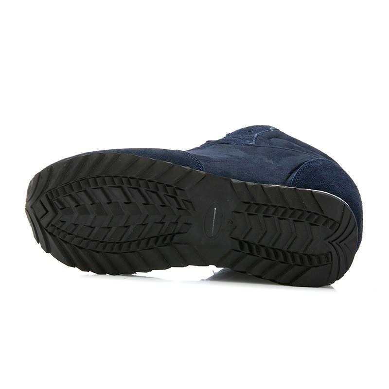 Sıcak Kadın Botları Kar Sıcak Kış Çizmeler Lace Up Kürk yarım çizmeler Bayanlar Kış Ayakkabı Siyah mavi Botas Mujer
