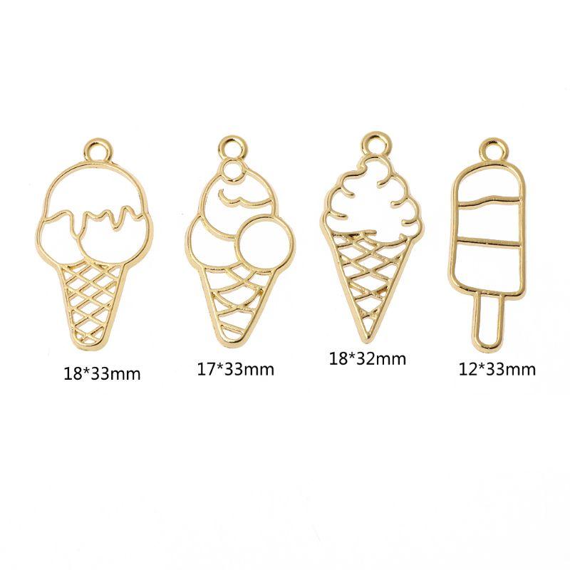 OPEN BEZEL ice cream cone B x 2 pcs