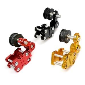 Image 3 - Universal motorcycle chain tensioner sprocket/pulley/chainsaw For honda cbr1000rr fireblade cbr1100xx blackbird ST1300 st1300a