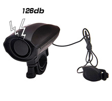 High Decibel Loud Bike Bell Cycling Bicycle Handlebar Ring Bells Electric bisiklet horn Siren Alarm Riding Safety Black usb charging bicycle bell electric horn with alarm loud sound horn ring mtb road bike handlebar cycling safety anti theft alarm