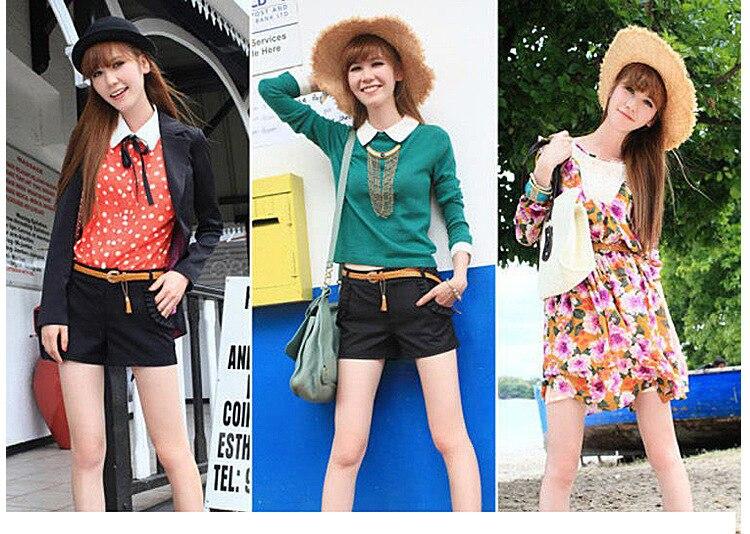 Hot Sale Brand Weaving Tassel Pigskin Leather Thin Female Belt For Women Decoration Dress Coat Cummerbunds Lengt 105cm 6