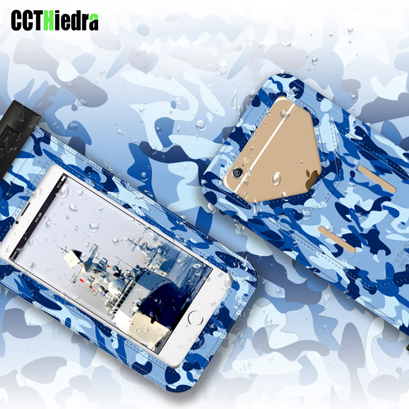 CCTHiedra Camouflage Case For iPhone X 6 6S 7 8 Plus Waterproof Bag Pouch Uniserval For Samsung S8 Note 8/Huawei P10 Phone Pouch