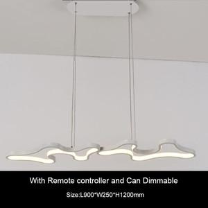 Image 5 - Creative Modern Led Hanging Pendant Lights For Shop Bar Dining Kitchen Room AC85 265V Acrylic Led Pendant Lamp Free Shipping