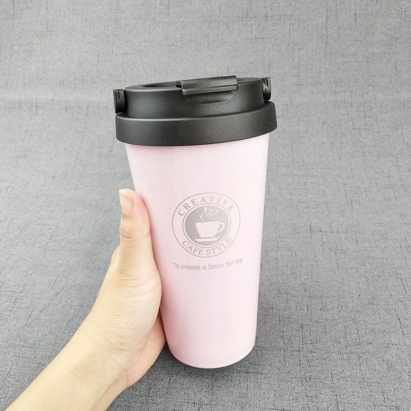 Pink with handle