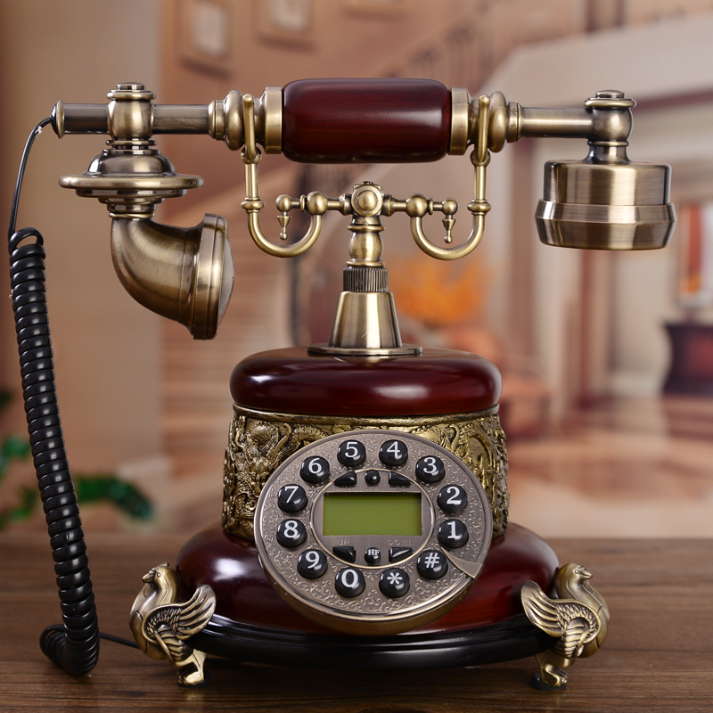 Special offer promotional antique telephone European Vintage Antique household fixed landline telephone technology corded phone