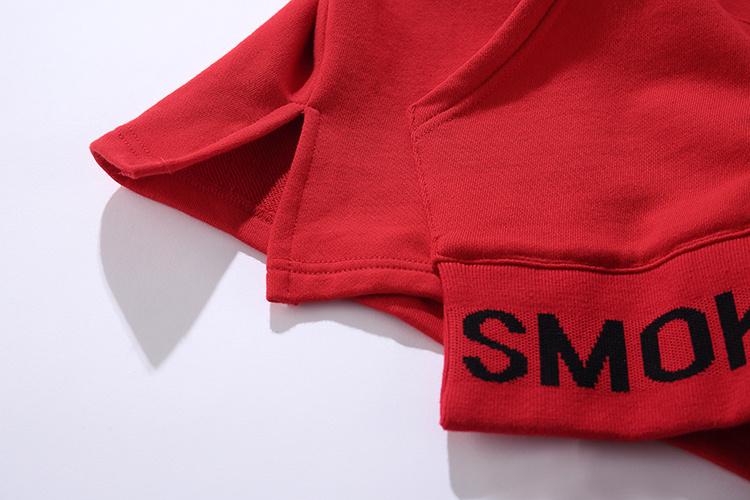 Ribbon Sleeve Hoodies 11