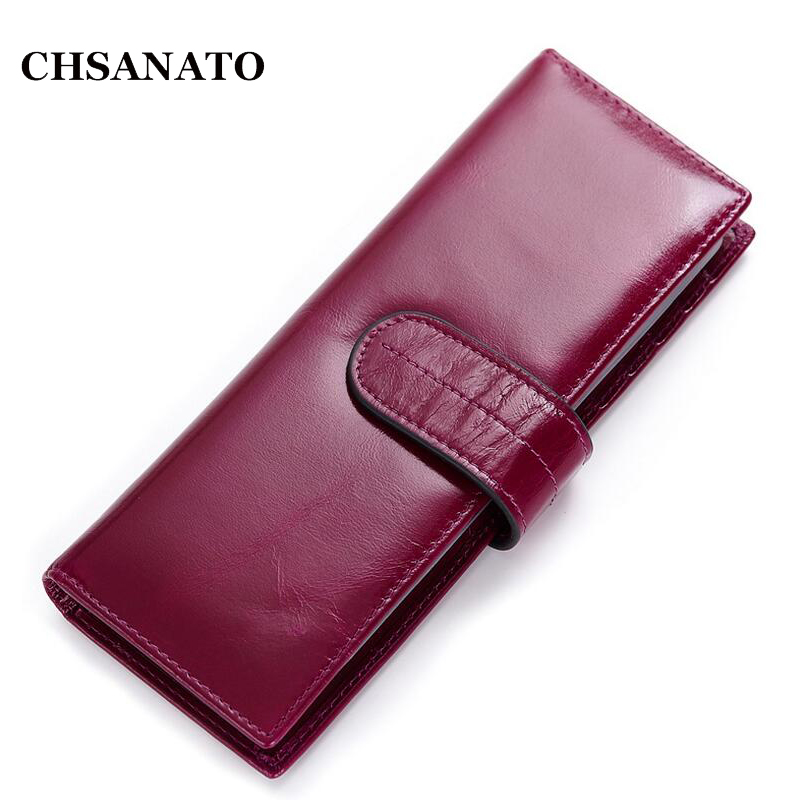 Menwomens casual genuine leather id card holder case large 2018 new women wallets genuine leather bag simple and practical wallet long purse and retro fashion zipper high quality walletusd 1510piece colourmoves