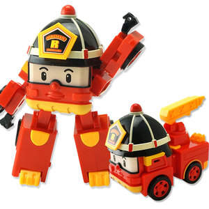 Image 5 - 4pcs Robocar Korea Robot Kids Toys Anime Action Figure Super Wings Poli Toys For Children Playmobil Juguetes