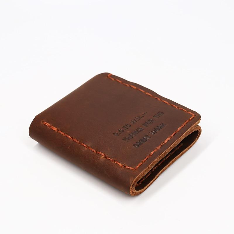 SIMLINE äkta läder plånbok män Det hemliga livet av Walter Mitty - Plånböcker - Foto 3
