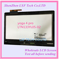 Original NEW 13.3 INCH lcd screen LTN133YL05-L02 LCD Display with Touch panel for Lenovo YOGA 4 PRO LCD Assembly yoga 900