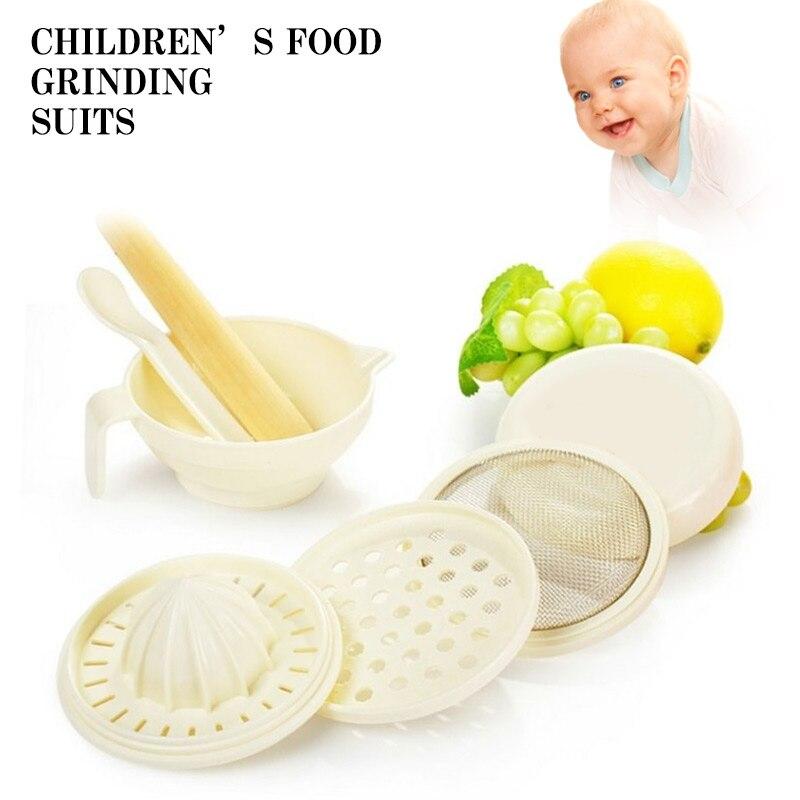Измельчитель соковыжималка для детского питания Masher Maker Соковыжималка здоровый шлифовальный стержень удобный пластиковый рис