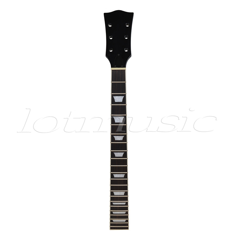 Kmise Electric Guitar Neck Mahogany Rosewood 22 Fret Black for Guitar Neck Replacement спортивные брюки elisa fanti спортивные брюки