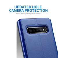 leather flip Luxury Leather Flip Case For Samsung Galaxy S7 S6 Edge S8 S9 S10 Plus Phone Flip  Case For Samsung Note 8 Note 9 S10 Lite Cover (3)