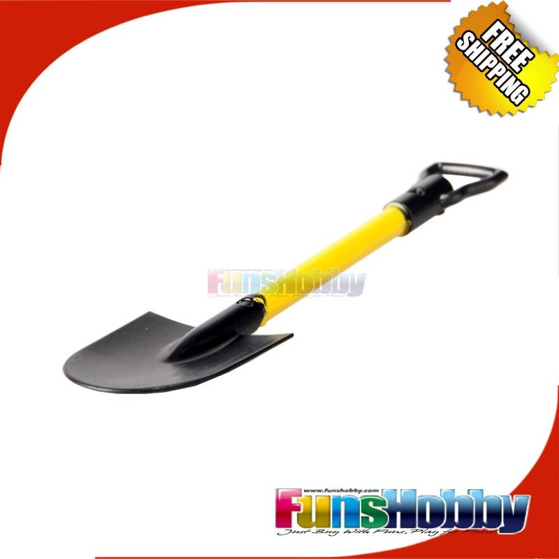 ФОТО mhpc 1:10 rc car rock crawler accessory trower  off road plastic scaled shovel for  cc01 wrait cr01 f350 90 d110 cod.fh31012