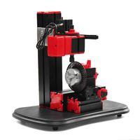 110V 240V Mini Lathe Bench Drill Machine DIY Electric Drill Woodwork Model Making Tool Lathe Milling Machine Kit