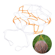 Cheap 5Pcs Lot Nylon Ball Mesh Net Bag Soccer Football Basketball Volleyball Holder