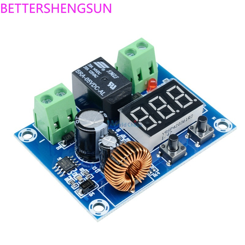 XH-M609 DC Voltage Protection Module Lithium Battery Undervoltage Loss Low Power Disconnect Output 6-60V