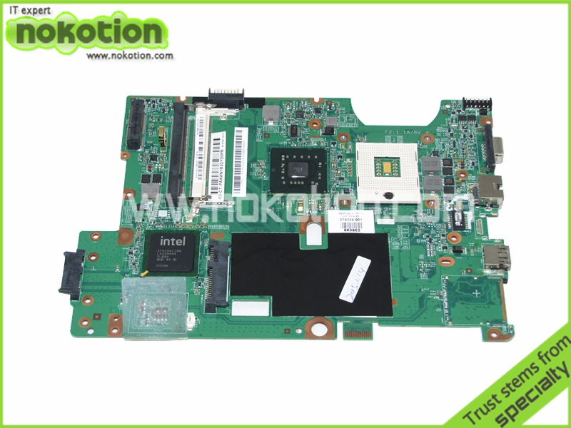 NOKOTION 48.4FQ01.011 578228-001 Laptop Motherboard for HP Compaq G60 CQ60 GL40 <font><b>DDR2</b></font> Mainboard Free Shipping image