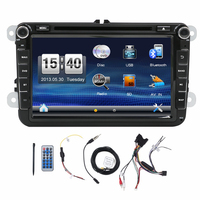 Hot Sale 2 DIN Car DVD For VW JETTA GOLF MK5 MK6 GTI PASSAT B6 POLO